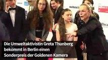 Goldene Kamera für Greta Thunberg