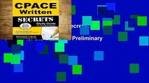 Review  Cpace Written Secrets Study Guide: Cpace Test Review for the California Preliminary
