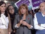 """Elena Valenciano: """"No es una ley contra el aborto, es una ley contra las mujeres"""""""