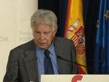 """Felipe González cree que """"la independencia de Cataluña es imposible"""""""