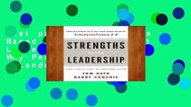 Best product  Strengths Based Leadership: Great Leaders, Teams, and Why People Follow: A Landmark