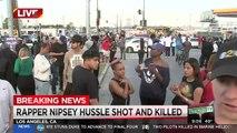 Le rappeur américain, nominé aux Grammy Awards, Nipsey Hussle a été tué par balles cette nuit à Los Angeles, a rapporté NBC News en citant des sources policières. Un porte-parole de la police de Los Angeles a confirmé à l'Agence France-Presse qu'une perso