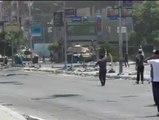 Los tanques del ejército egipcio tirotean a los manifestantes en Ismailía