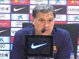 """Tata Martino: """"Mi deseo esta temporada es poder jugar bien y poder ganar"""""""