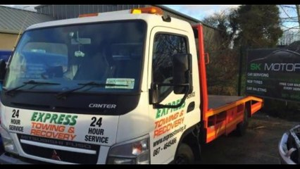 Car Recovery Dublin   0874645466   expresstowing.ie