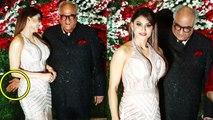 Sridevi's husband Boney Kapoor's SHOCKING act with Urvashi Rautela at Jayantilal Gada's Son Wedding