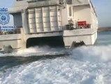 Sorprendido en Tarifa un inmigrante que pretendía entrar en España agazapado en las hélices de un ferry