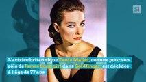 L'actrice britannique Tania Mallet, connue pour son rôle de James Bond girl dans Goldfinger, est décédée à l'âge de 77 ans