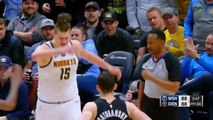 L'expulsion de Nikola Jokic face aux Wizards