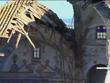 Cae parte del techo y un muro del convento de Medina Sidonia