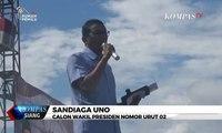 Kampanye di Palopo, Sandiaga Janji Tingkatkan Kesejahteraan Tenaga Honorer