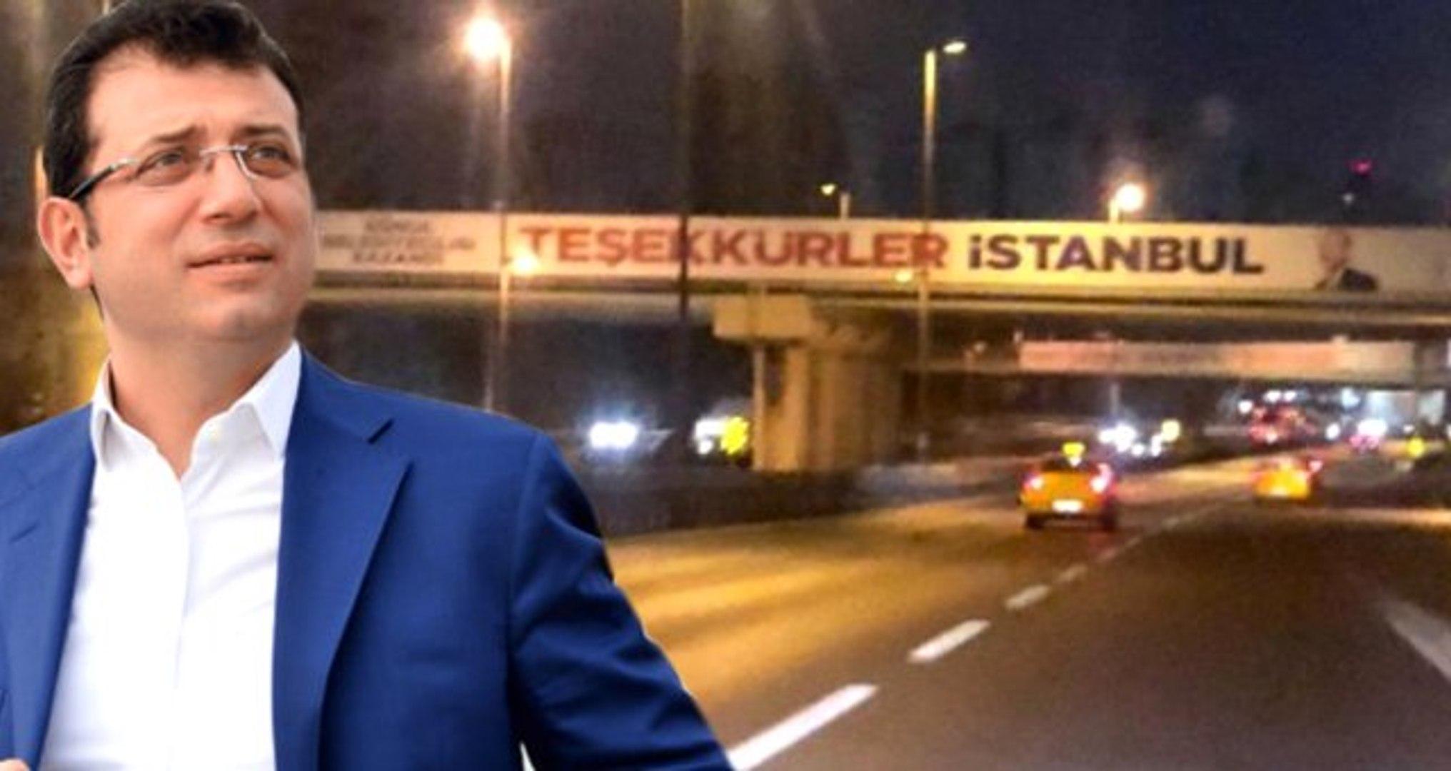 İmamoğlu Suç Duyurusunda Bulunmuştu: İstanbul'u Karıştıran Afişler Kaldırıldı