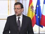 """Rajoy elude hablar de la imputación de Angel Sanchís: """"Estamos a lo que decidan los tribunales de justicia"""""""
