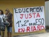 20 alumnos de Riaño se niegan a ser trasladados de colegio