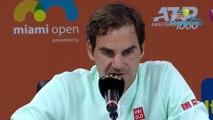 """ATP - Miami Open 2019 - Roger Federer a répondu aux critiques de Stefanos Tsitsipas sur """"ses privilèges"""""""