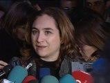Ada Colau celebra en el Congreso la tramitación de la dación en pago