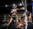 Premier combat semi-pro et premier Ko  pour Isaïe Hennion