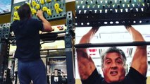 Sylvester Stallone workout routine 73 years old - Rocky Rambo Expendables