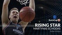 7DAYS EuroCup Rising Star Trophy winner: Martynas Echodas, Rytas Vilnius