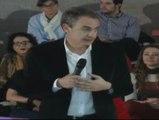"""Zapatero: """"No se puede ser socialista sin ser feminista"""""""