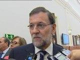 Sorpresa en los pasillos del Congreso por la muerte de Emilio Botín