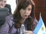 """Cristina Fernández: """"Nos quieren asustar con que si no hacemos lo que quieren van a venir las 10 plagas de Egipto"""""""