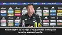 (Subtitled) Ronaldo could miss Ajax Champions League game - Allegri