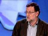 Pro abortistas interrumpen a Rajoy en el Congreso del PP vasco
