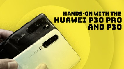 Hands-on with Huawei P30 Pro and P30