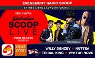 Génération SCOOP Live : retour dans les années 2000 avec Nuttea, Willy Denzey et Tribal King sur la scène de la Foire de Lyon