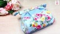 DIY PURSE BAG CUTE DESIGN FROM SCRATCH EASY // Zipper Bag