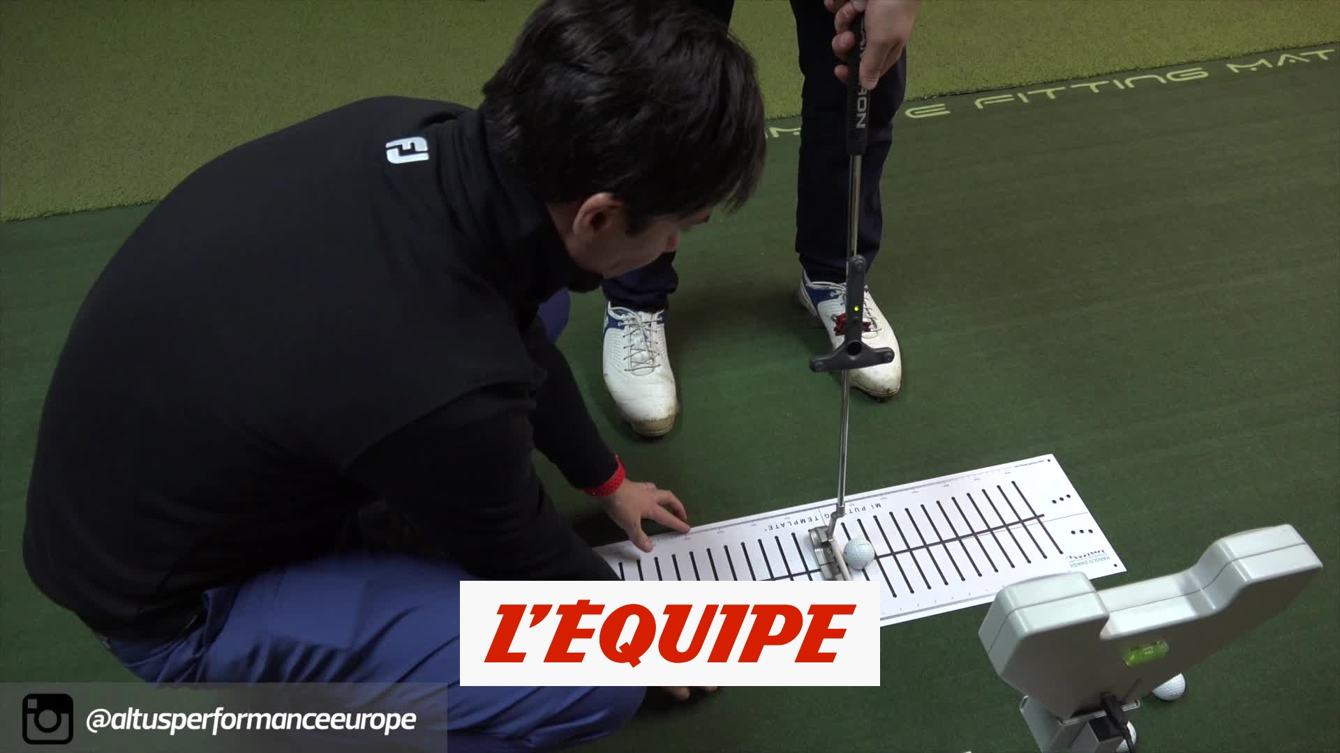 Vérifier son putting – Golf – Altus