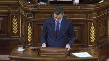 """Pedro Sánchez: """"Todo lo que se sitúe fuera de la Constitución contará con la respuesta firme, serena, proporcional y contundente del Estado"""""""