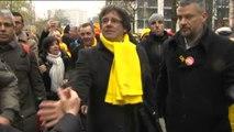 45.000 personas, según la policía belga, toman las calles de Bruselas