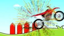 MotoCroos fruits Monster Cross (Gros moteur) Matocykl Pour les Enfants