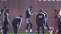 "Valverde: ""Todos tratamos de ayudar a Dembélé para que dé su mejor versión"""