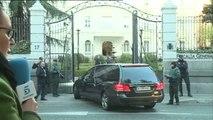 Llegan a Madrid los restos mortales de José Manuel Maza