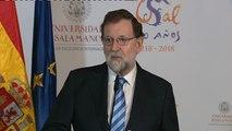 Rajoy agradece a Juncker el apoyo al Gobierno español tras la declaración de independencia de Cataluña