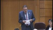 """El senador Josep Lluis Cleríes acusa al ministro de Justicia de """"perseguir ideas, no delitos"""""""