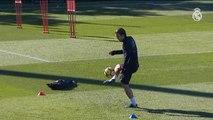 El Real Madrid se ejercita en Valdebebas pensando en el Atlético de Madrid