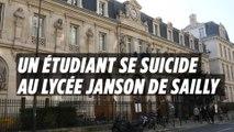 Paris : un jeune étudiant s'est suicidé à Janson-de-Sailly
