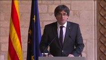 Carles Puigdemont no convoca elecciones anticipadas en Cataluña