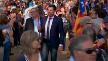 Alcaldes en el Parlament para apoyar la independencia