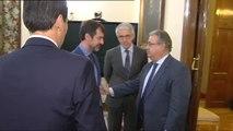 Zoido pide al nuevo jefe de los Mossos d'Esquadra que se acaten las órdenes judiciales