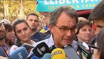 """Artur Mas asegura que lo que Cataluña defiende va """"más allá de la independencia"""""""