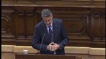 """Xavier García Albiol: """"No vamos a permitir la independencia de Cataluña, ni por etapas ni en diferido"""""""