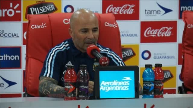 "Sampaoli: ""Messi no le debe un Mundial a Argentina, el fútbol le debe un mundial a Messi"""