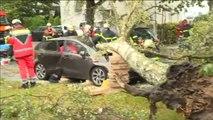 Al menos siete muertos por la tormenta Xavier en Alemania