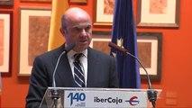 """De Guindos sobre Cataluña: """"La independencia sería un suicidio financiero"""""""