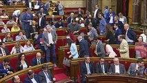 Los independentistas desoyen las advertencias de Rajoy y aprueban la ley de desconexión
